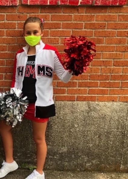 A look into the life of an O. Henry cheerleader with lots of school spirit